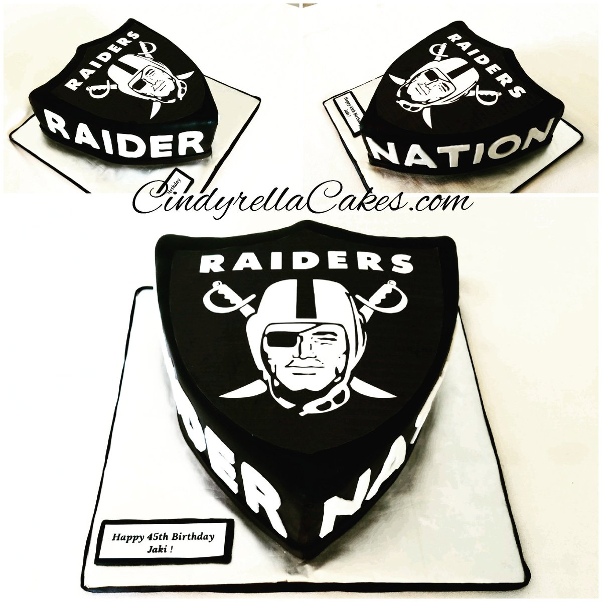 Cindyrella Cakes On Twitter Raiders Fan Birthday Cake Cindyrellacakes Truefan Raiders Raidernation Football Raider Nation Birthdaycake Raiderfam Cake Cakes Https T Co Pgrb2qunm6
