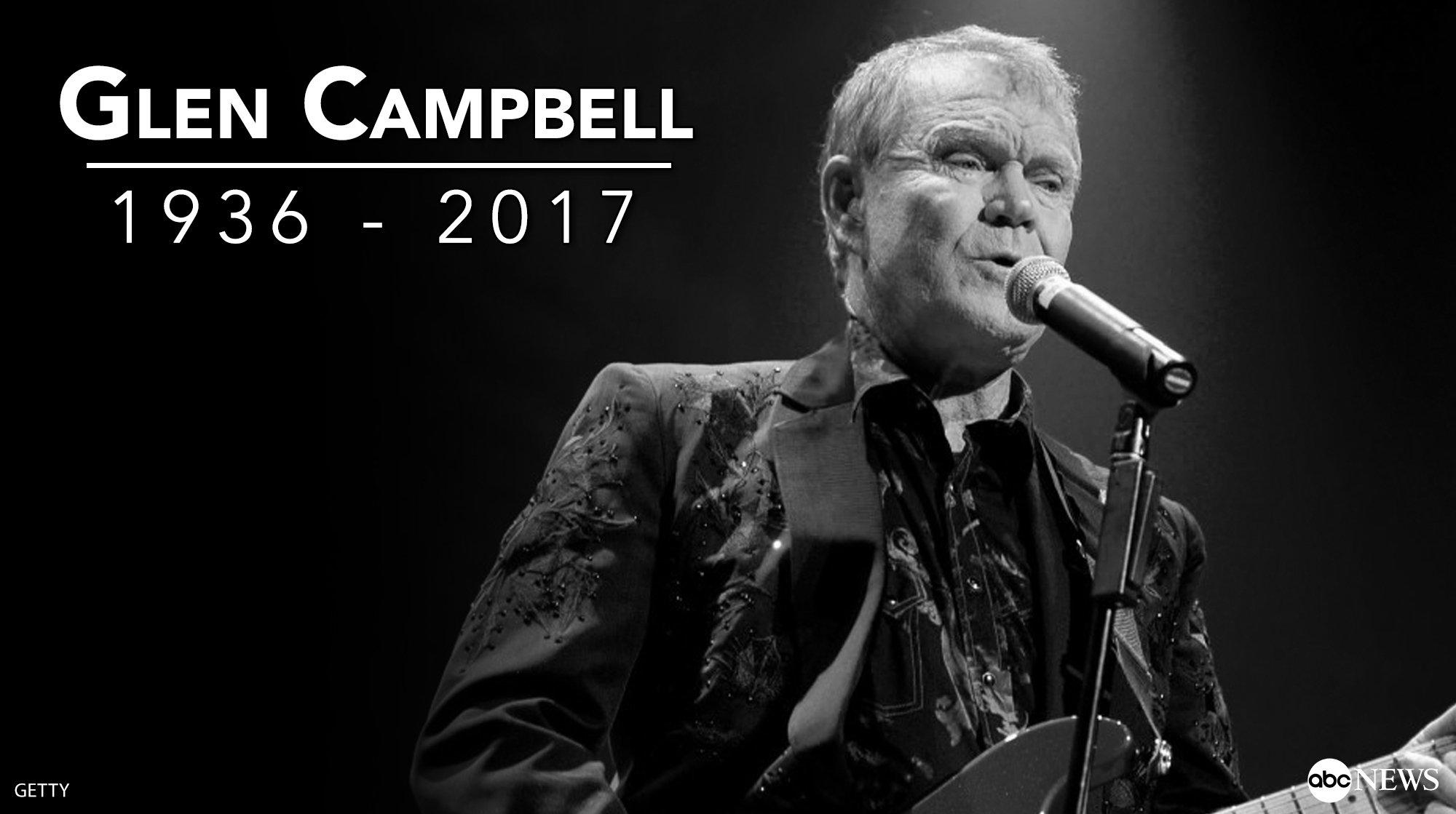 Rest in peace, Glen Campbell... https://t.co/ESbRzHakkj