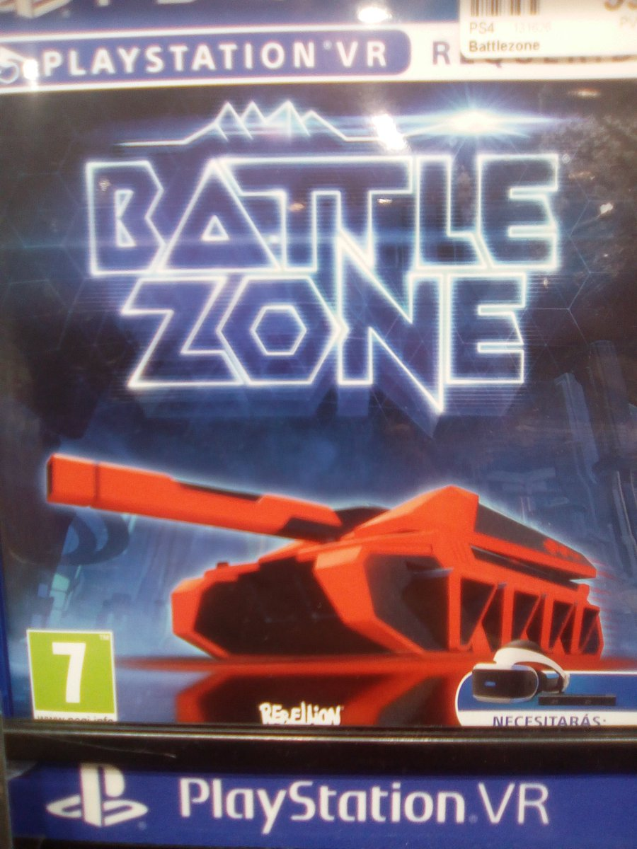 I was going to make fun of battle zone for looking like a Tron rip-off, but actually it looks very cool. #battlezone #tron<br>http://pic.twitter.com/iB662mOfAr
