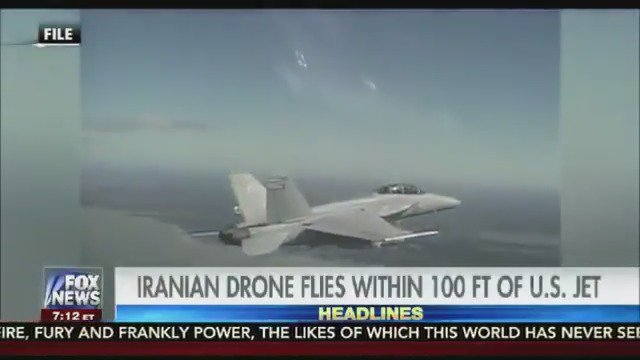 CLOSE CALL: Iranian drone flies within 100 feet of landing US fighter jet https://t.co/RzhwBpTIYW