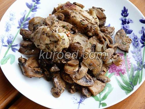 Рецепты грибы с рисом