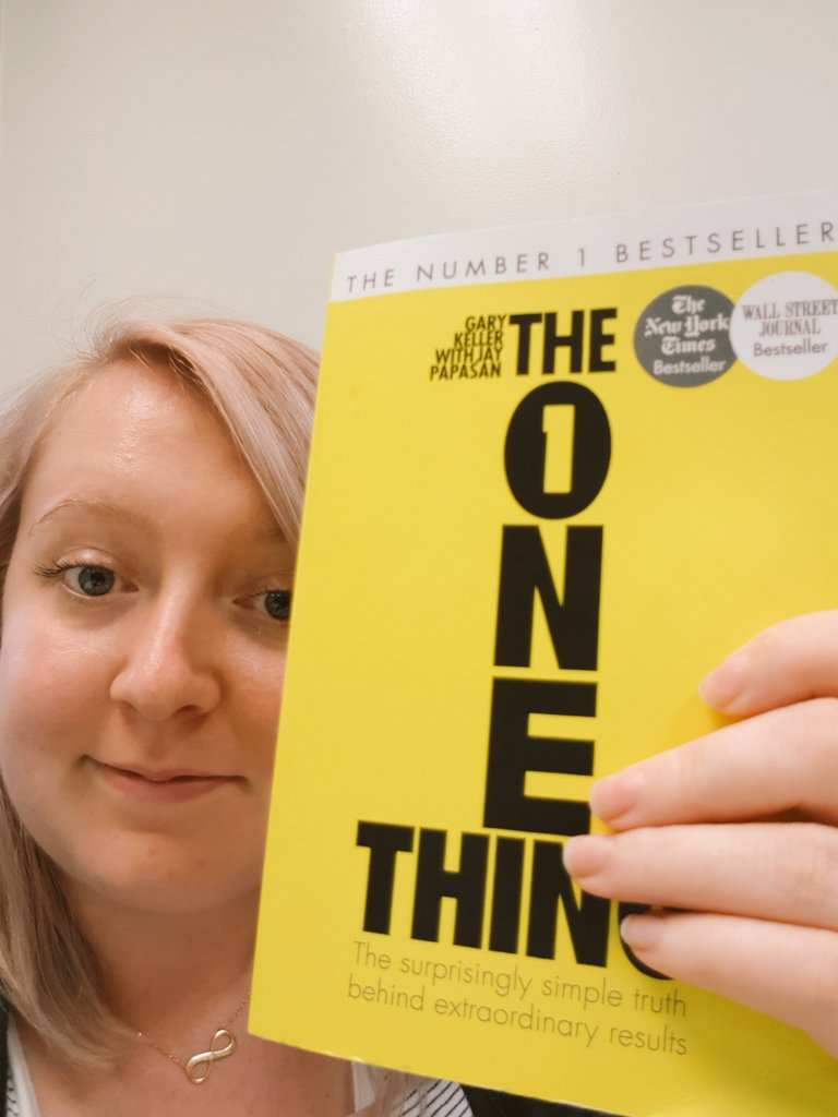 Alice has recently finished @the1thing by @garykeller with @jaypapasan #BookLoversDay #LFAurora #LFLead <br>http://pic.twitter.com/XfESMxOV9z