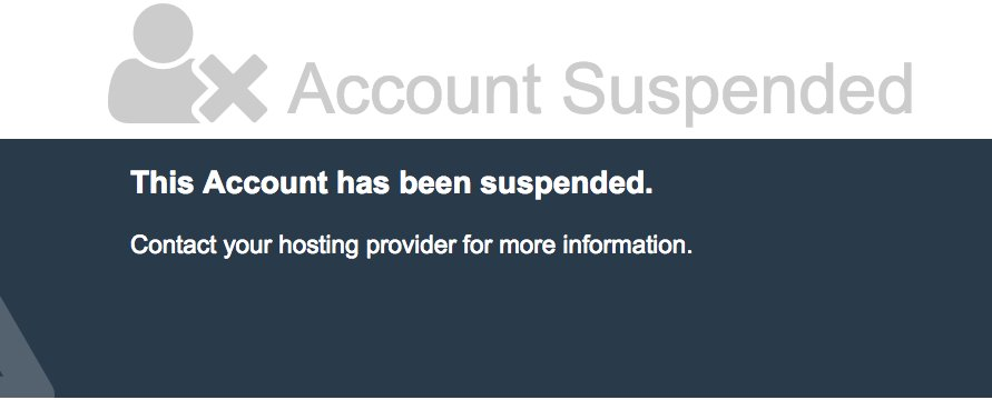@asmallorange After all morning talking with a not very helpful customer service, my account still suspended. Shame on you!