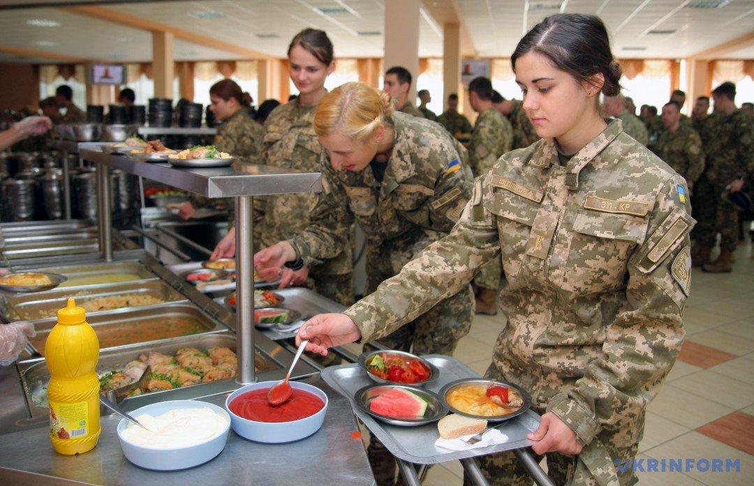 Хорошая диета для военных