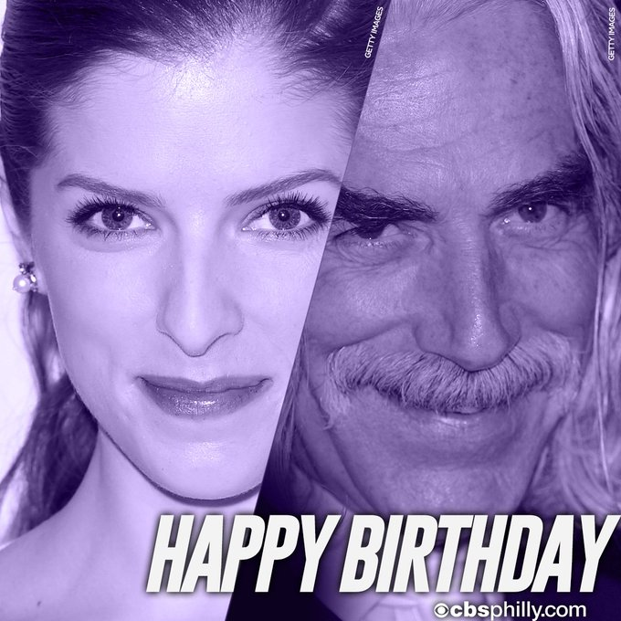 HAPPY BIRTHDAY & Sam Elliott!