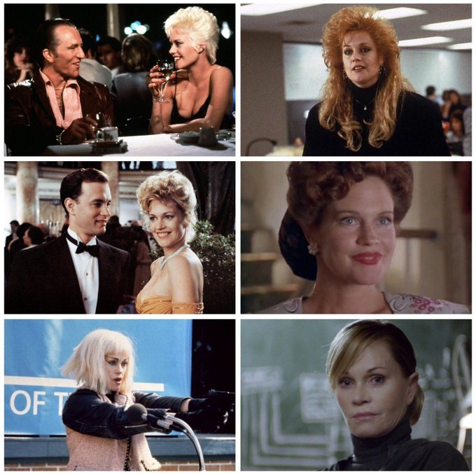 Happy 60th birthday to Melanie Griffith! Some highlights: