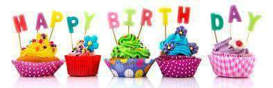 Congratulations! HAPPY! BIRTHDAY!  Hoda! Kotb! Sweeet! Way! Cool! Aaaaay!