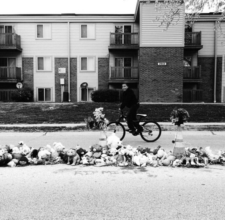 3 yrs ago today my life changed. The trama my city went through will never be swept under a rug. Forever #mikebrown https://t.co/SLtDEclbmP