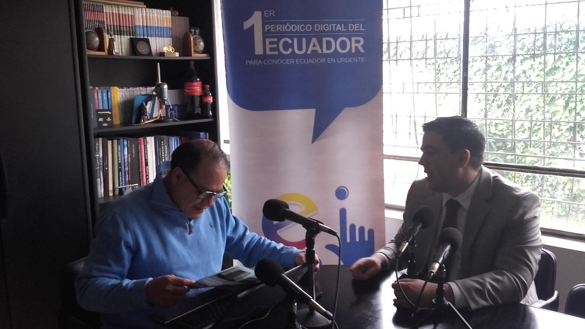 #ELPODERDELAPALABRA #ALAIRE NICOLÁS ISSA WAGNER, DIRECTOR GENERAL DE INMOBILIAR @ecuainm https://t.co/CRX6DUYLH0 https://t.co/k6dsmMYOxo