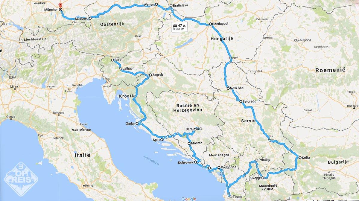 3 Op Reis On Twitter Deze Roadtrip Door Oost Europa Wil Je Rijden