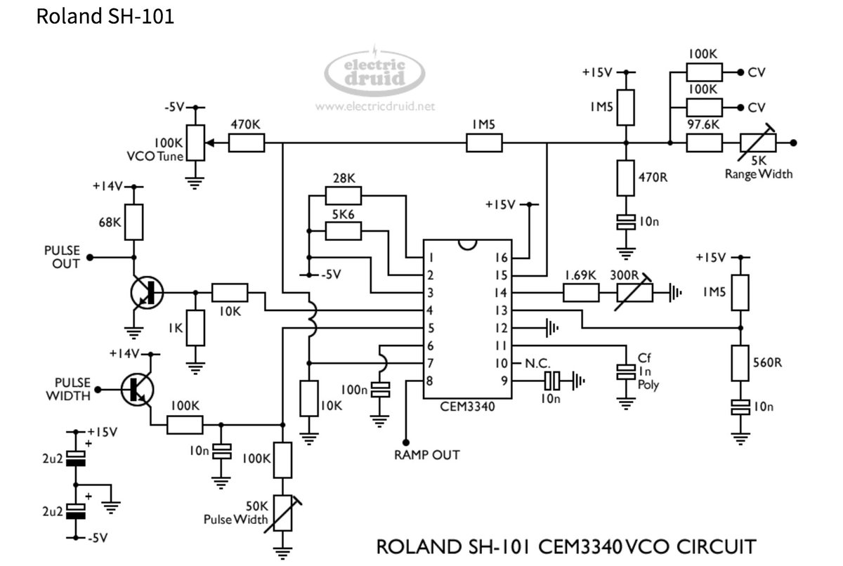 reaktorplayer on twitter   u0026quot cem3340 vco  voltage controlled