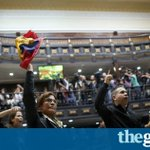 40 countries protest Venezuela's new assembly amid fraud accusations last week https://t.co/yGNS1OmCWi