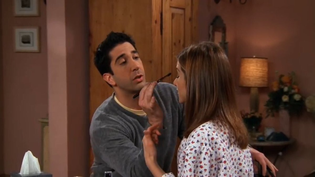 how long were ross and rachel dating