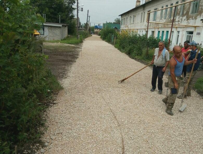 На ул. Широкая в Узловой