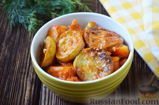 Овощное рагу с фаршем рецепт