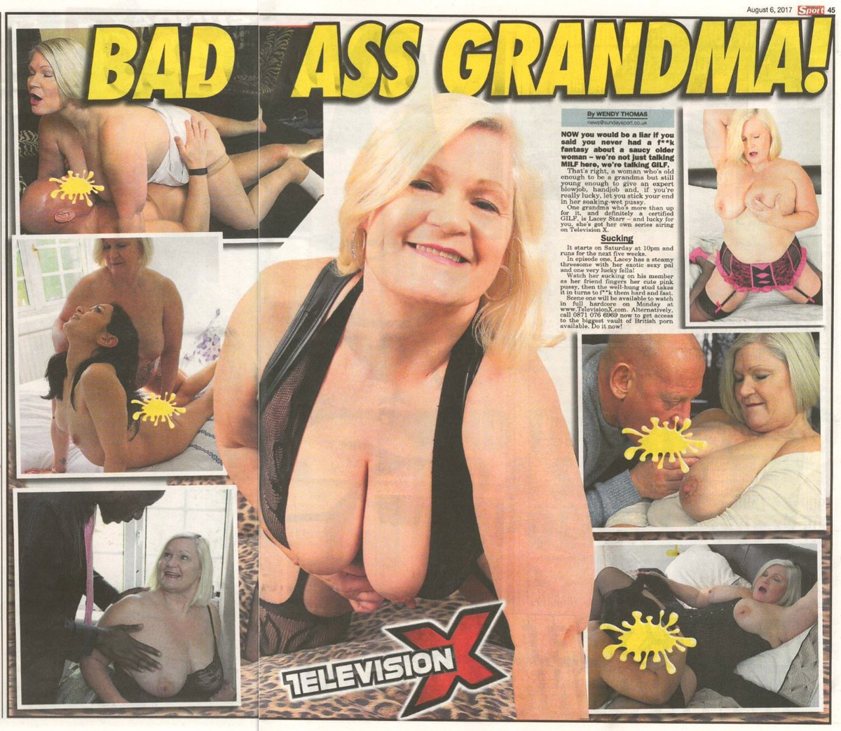 "laceystarr on twitter: ""my new series badass grandma featured in"