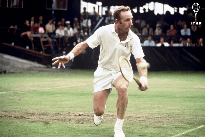 Happy Birthday to an incomparable champion, Hall of Famer Rod Laver.