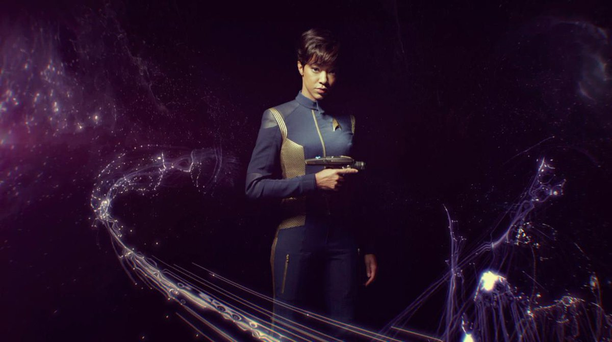 First Officer Michael Burnham. #StarTrekDiscovery begins streaming on...