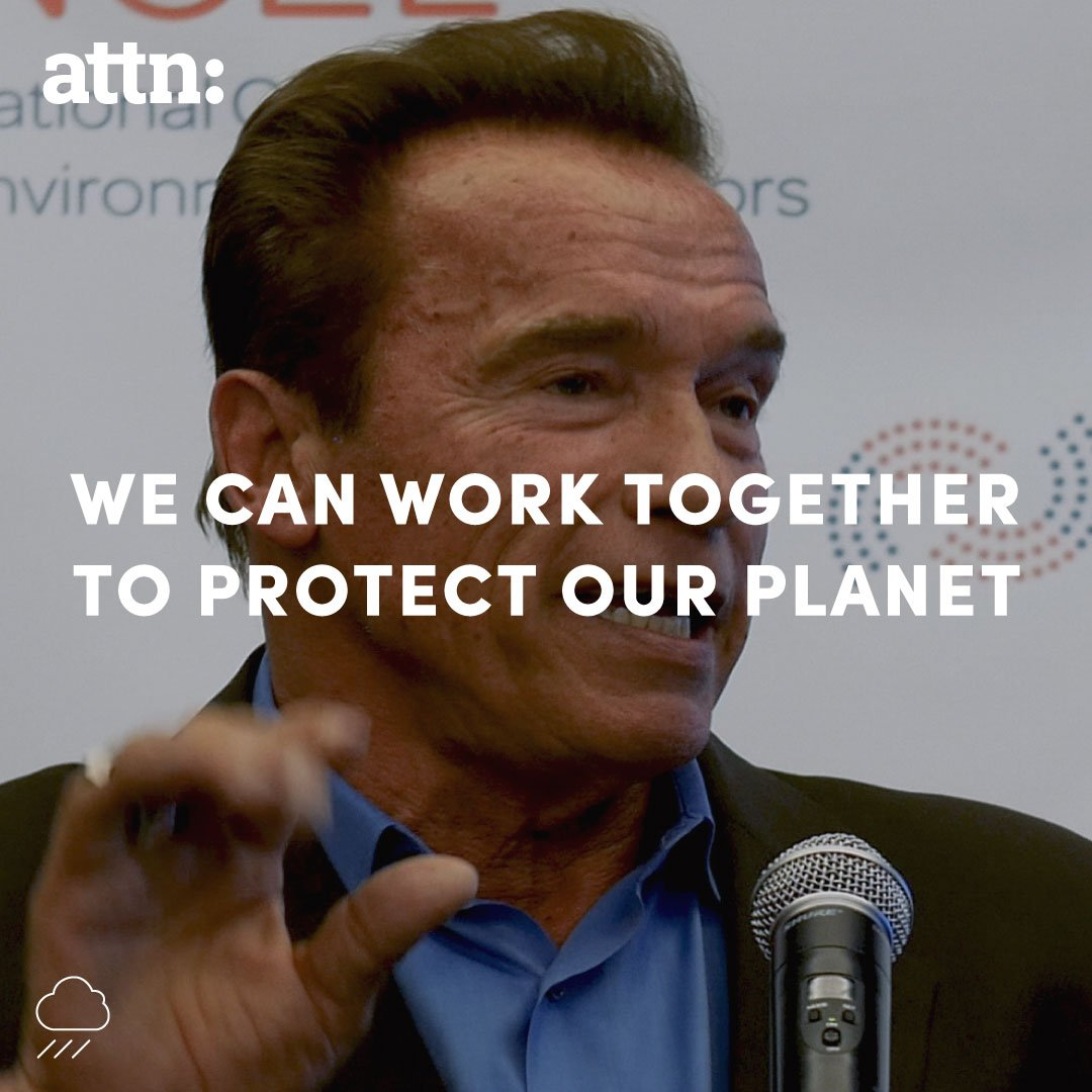 You don't need the government to protect the planet, you can do it yourself -- @Schwarzenegger