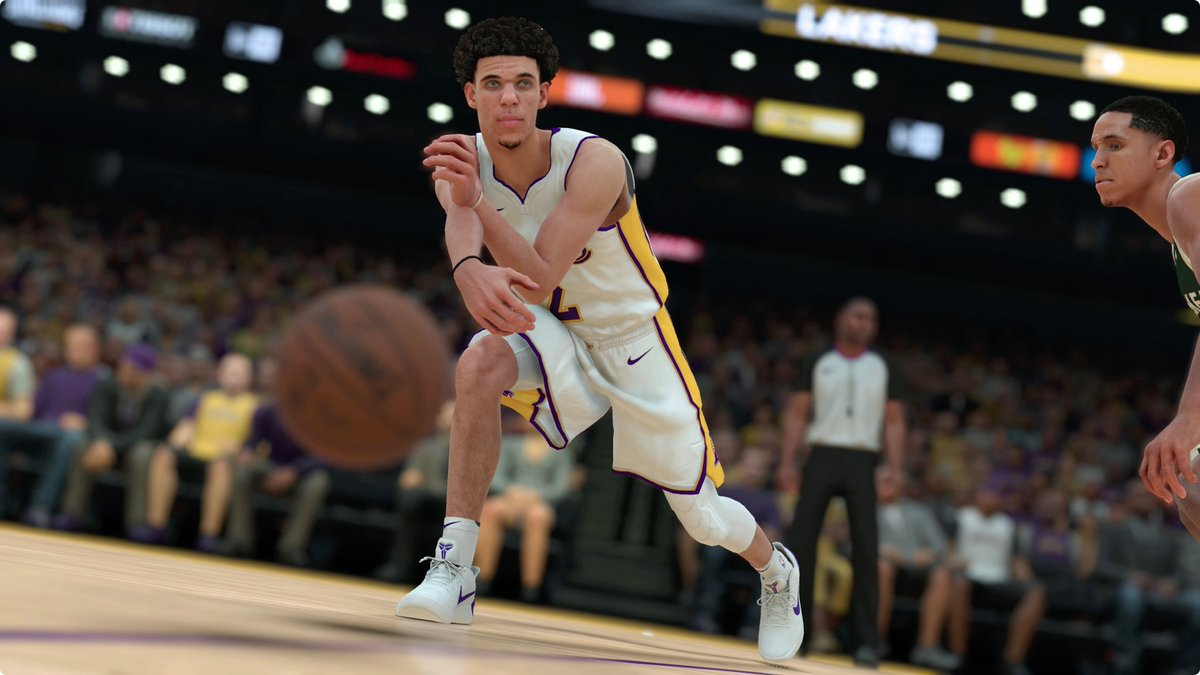 8a51d93db9c9 lonzo ball to play in nike instead of big baller brand in nba 2k18