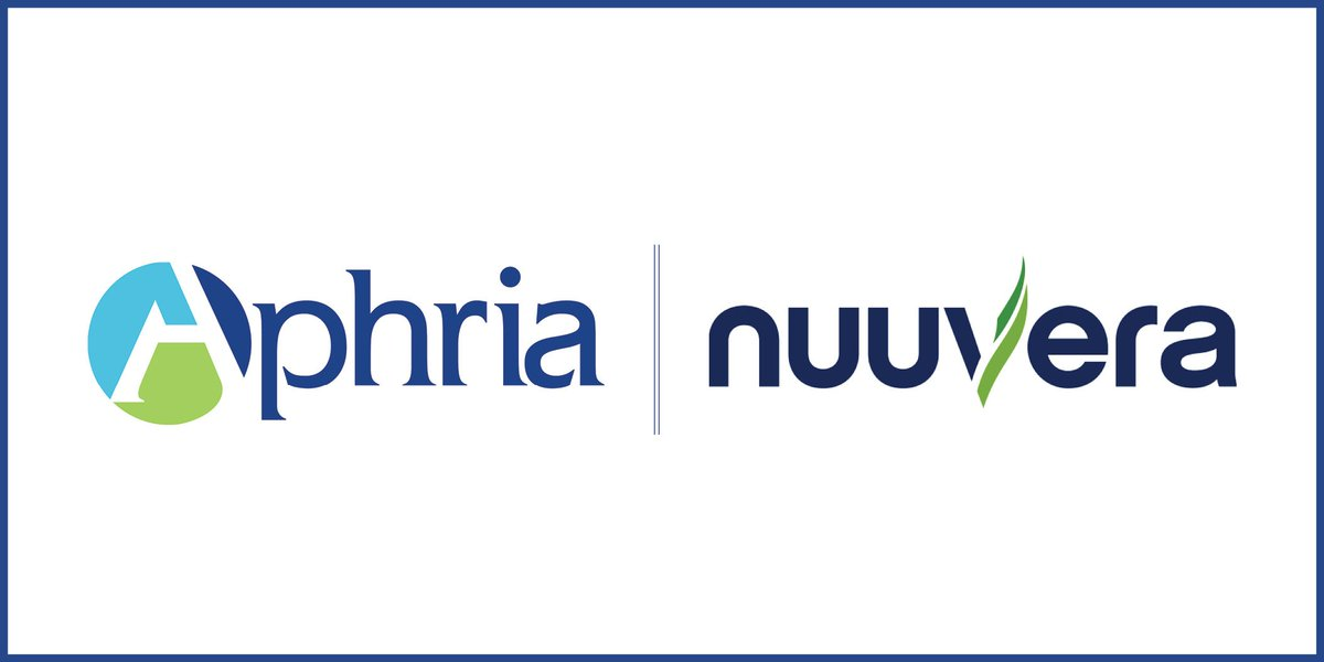 Aphria Inc On Twitter Aphria Announces Global Strategic Partnership With Emerging International Leader Nuuvera Corp Https T Co Piwy9lf6vz Mmj Https T Co Tizwojygmz