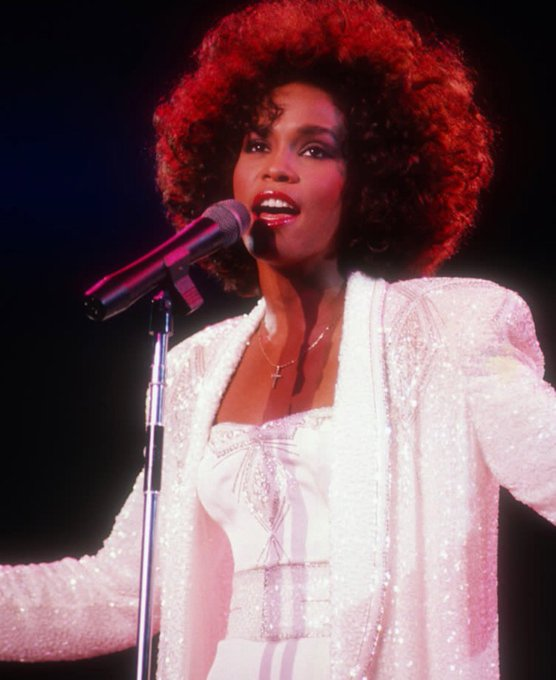 Happy Birthday to the woman who\s music I grew up on and always found comfort in ---- RIP Whitney Houston