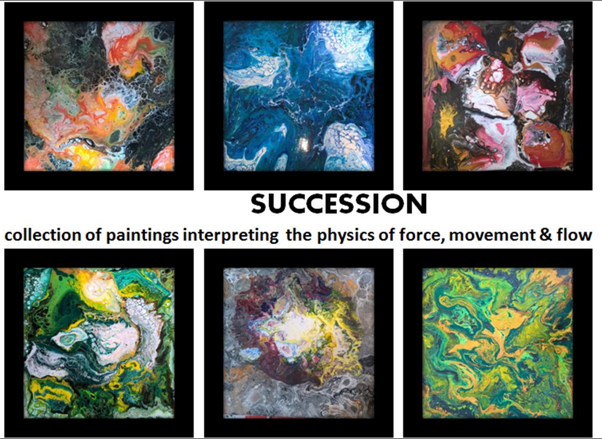 &quot;Succession&quot; is now at the Curo Gallery #ATSocialmedia #yorkshirebiz #artsheffield #sheffieldissuper #abstractart #contemporaryart #science<br>http://pic.twitter.com/guaYYXmsTo