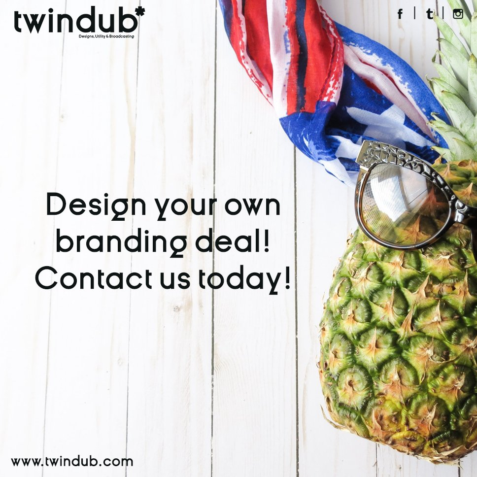 #Design your own #Branding deal. Contact #Twindub today #socialmediabranding #socialmediamarketing #socialmedia #digitalmarketing #hyderabad<br>http://pic.twitter.com/4eURNNrMWb