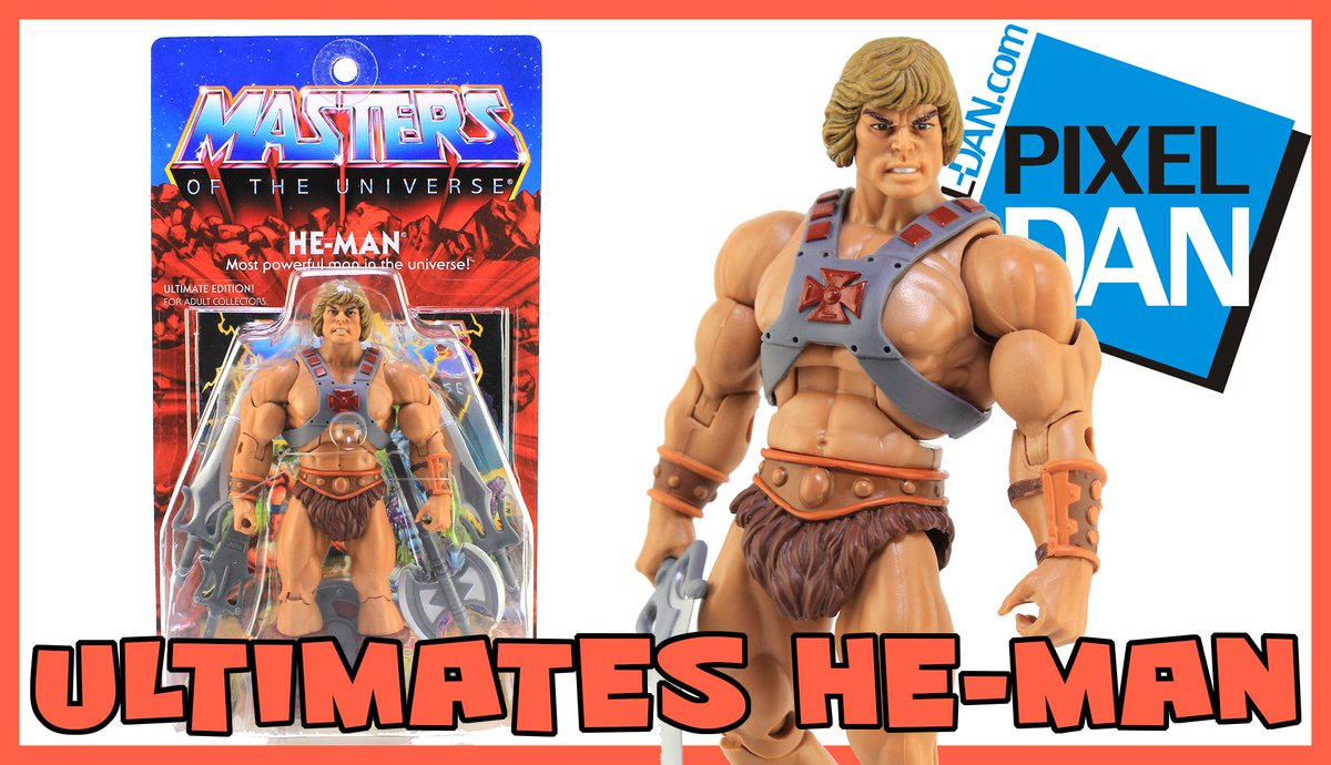 Join @PixelDan for a look at #MOTU Classics Ultimate Edition #HeMan from @super7store! Click here to watch:  http:// bit.ly/2eli2Nj  &nbsp;  <br>http://pic.twitter.com/0LtHGyBraL