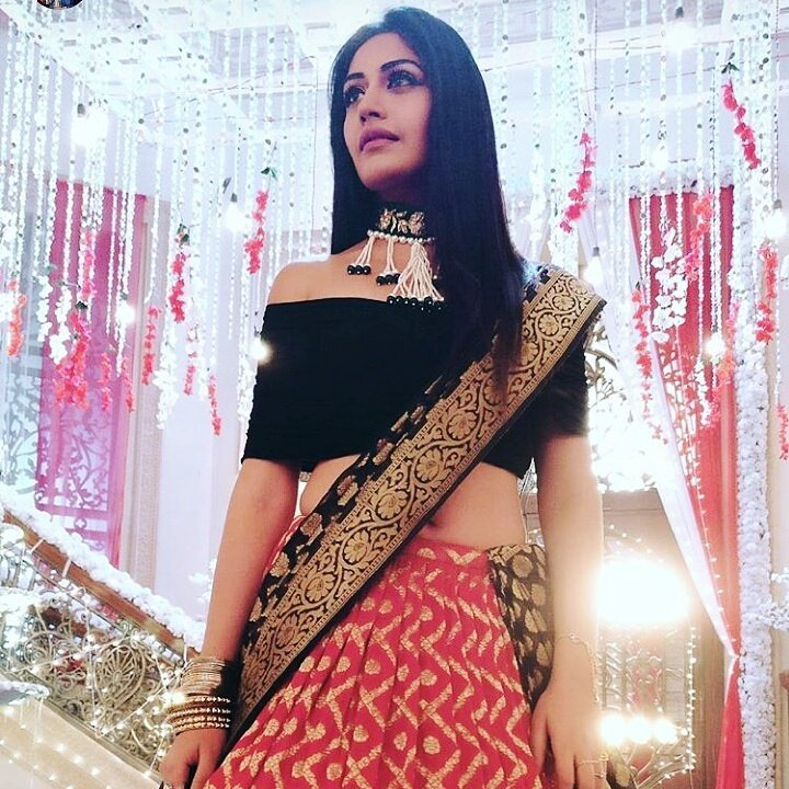 Ishqbaaz Surbhi Chandna aka Anika in engagement dress for upcoming sequence images pictures photis
