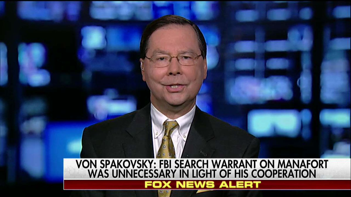 .@HvonSpakovsky: 'There is no evidence that's been produced whatsoever yet of any violation of federal law.'