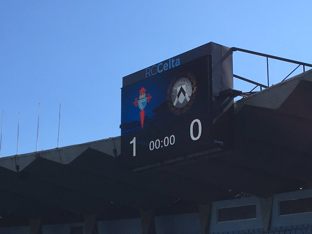 Hey @RCCelta, so... THAT's what you call 'home advantage' in Spain? 😂