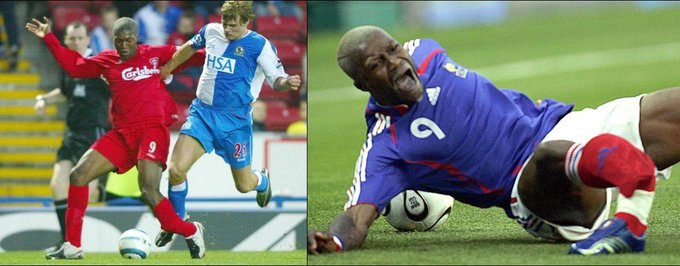 Happy Birthday to the unluckiest man in football, Djibril Cissé.