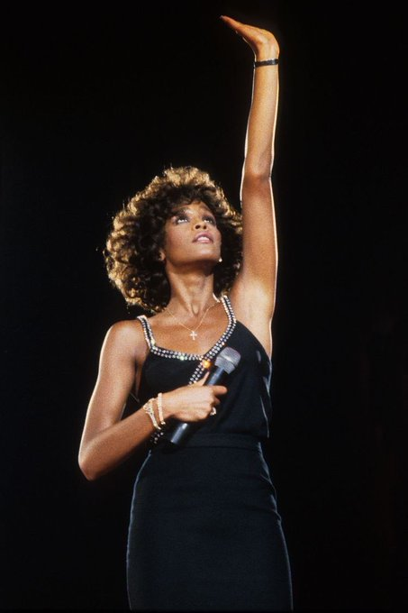 Happy Heavenly Birthday to Whitney Houston. We miss the girl with the big voice.