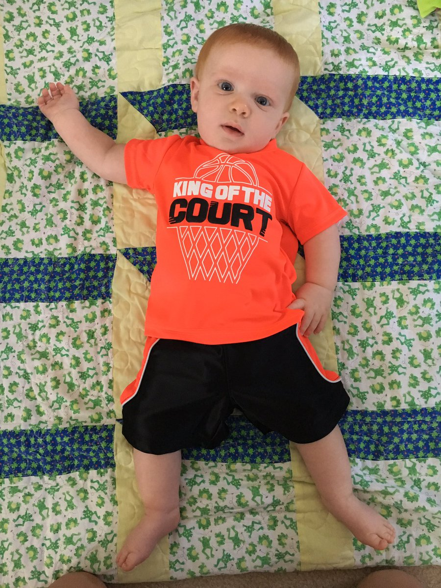 Watch out uncles @KyleAhrens33 & @ahrensjustin12 ... the competition has arrived! 🏀