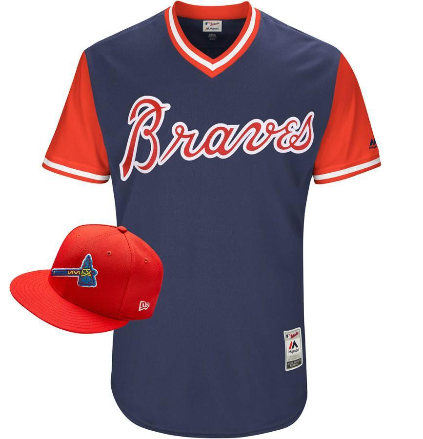 The #Braves will be showing some style for Players Weekend! https://t.co/RWBEXitNpL https://t.co/xXVcVaUTrL