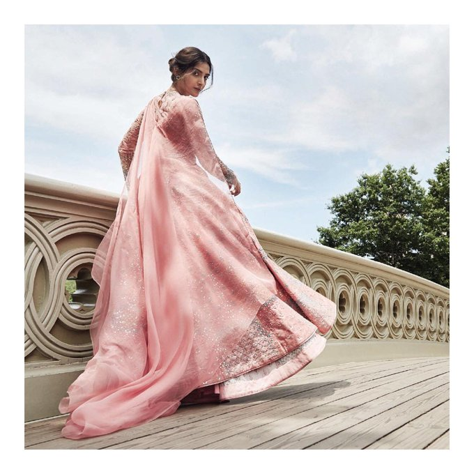 Look back, and smile on perils past – Walter Scott For @BazaarBrideIn August Issue with @anitadongre https://t.co/IJDHar3pUx