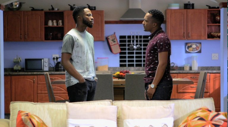 Mastermind tries to make amends with Mxolisi. Tune in to #UZALO on @Of...