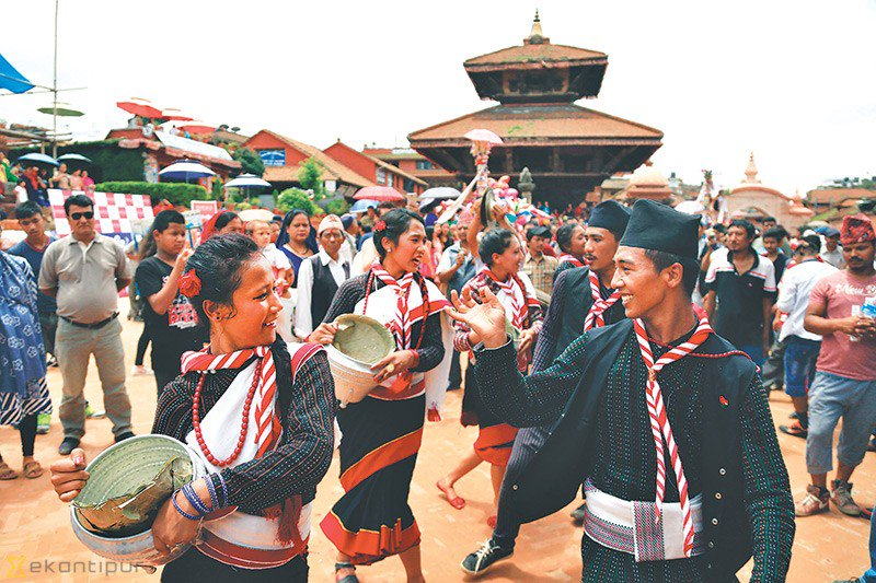 #gaijatra festival in #Kathmandu more at  https:// goo.gl/Zu3ohf  &nbsp;  <br>http://pic.twitter.com/B5hC7SwgVi