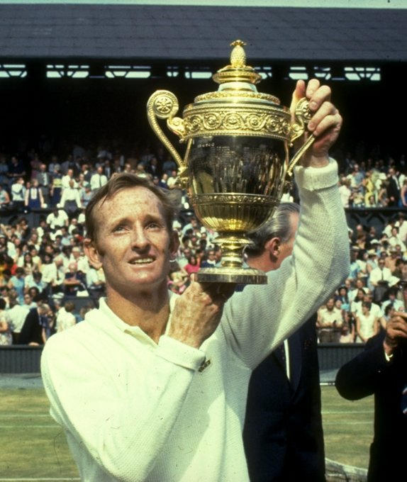 Happy 79th birthday, Rod Laver!