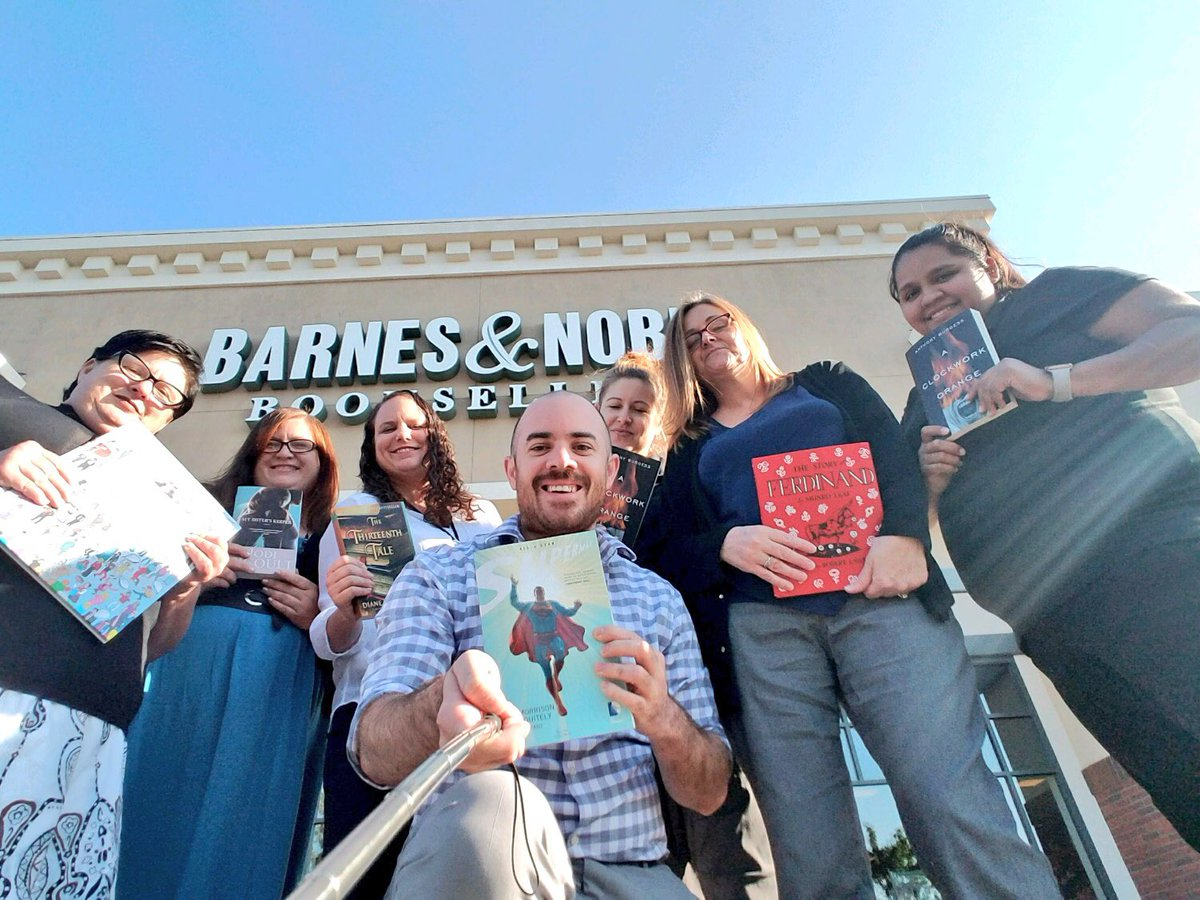 Happy #nationalbookloversday From The Management Team At Barnes & Noble  Natomas!! #booklover
