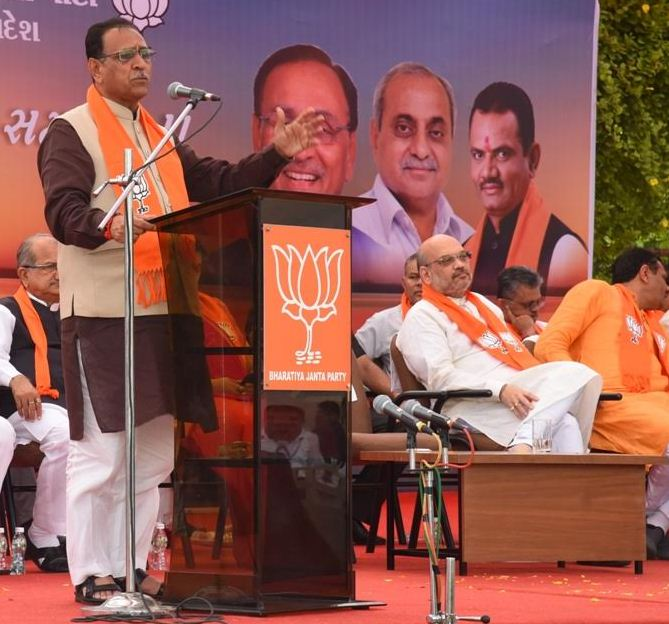 When two invalidated votes will be counted, result of RS poll will surely change: Rupani