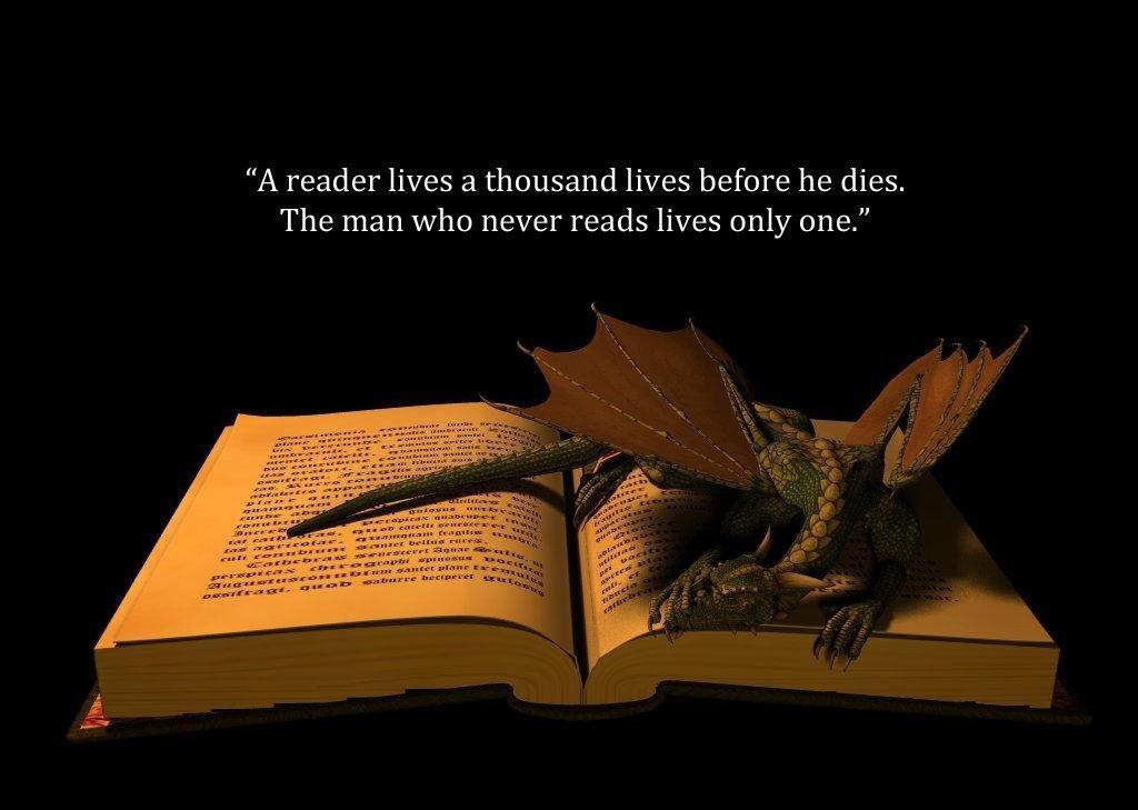 Live a thousand lives #BookLoversDay
