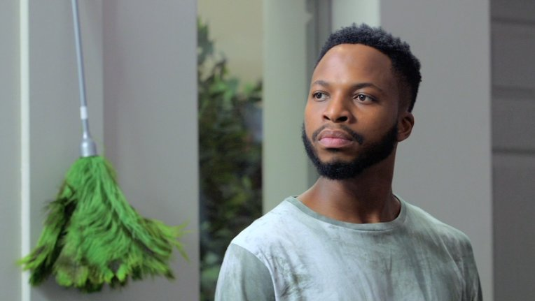Mxolisi finally confronts Nkunzi about his 'change of character.' #UZA...
