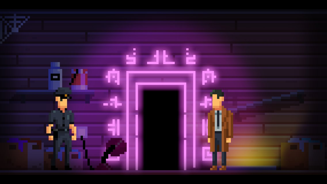 This adventure game I've worked on for 2 years, The Darkside Detective, is out now. 👻  Get the game and soundtrack; http://store.steampowered.com/app/368390/The_Darkside_Detective/…