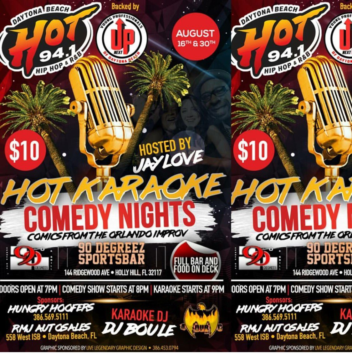 August16 We Are Back At The 90 Sports Bar For Our Hotkaraokecomedeynightspictwitter HSyeZeCUxb