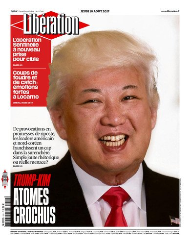Image result for liberation magazine trump-kim
