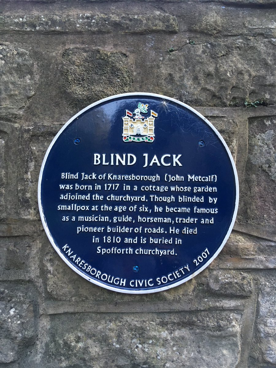 plenty of localhistory in knaresborough northyorkshire links with blindjack john metcalf olivercromwellpictwittercomhjnaads1nd