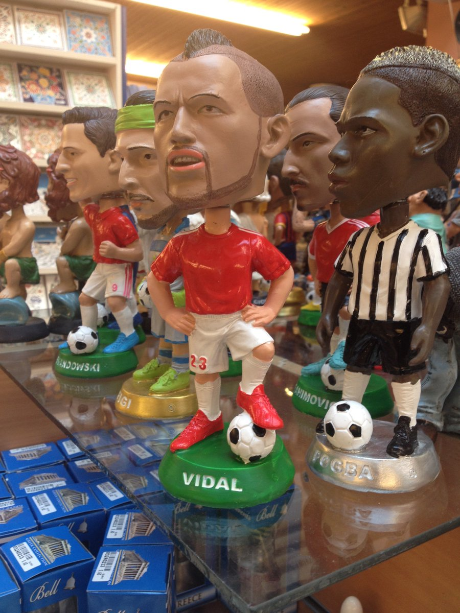 #arturoVidal the king muppet #greek #atenas #bayernMunich for sale with #pogba<br>http://pic.twitter.com/F052BV7T7j