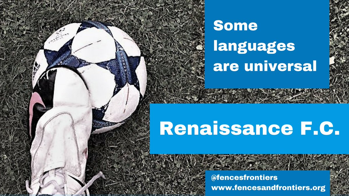 Proud to launch our #Football team for #refugees - promoting physical/mental health &amp; integration #RenaissanceFC  http:// bit.ly/2g5qEsT  &nbsp;  <br>http://pic.twitter.com/nGO5PJb0wq
